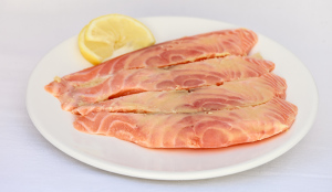 darnes de saumon marin au gingembre