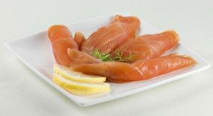 saumon tranché